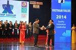 Tân Hiệp Phát đạt Thương hiệu quốc gia 2014