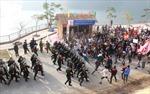 Diễn tập chống khủng bố tại Nhà máy Thủy điện Sơn La