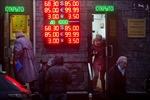 Đồng ruble Nga tăng giá
