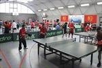 Giải bóng bàn Hữu nghị giúp gắn kết người Việt ở châu Âu
