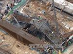 Giáo chống thi công Đường sắt Cát Linh - Hà Đông không an toàn