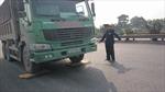 Bắt tại chỗ xe quá tải chở vật liệu thi công dự án Pháp Vân – Cầu Giẽ