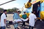 Đưa một bệnh nhân từ Phú Quốc về đất liền cấp cứu kịp thời