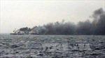 Cứu được 197 người trên phà cháy Italy