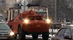 Độc lạ xe taxi thiết giáp tại Nga