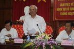 Đoàn giám sát của Ủy ban thường vụ QH làm việc tại Bình Phước