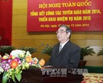 Phát biểu của đồng chí Lê Hồng Anh tại Hội nghị tổng kết công tác Tuyên giáo
