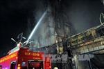 Cháy lớn thiêu rụi 6 căn nhà tại TP Hồ Chí Minh