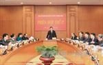 Phiên họp thứ 17 của Ban Chỉ đạo Cải cách tư pháp Trung ương