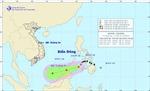 Bão Jangmi suy yếu thành áp thấp nhiệt đới