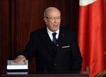 Ông Beji Caid Essebsi tuyên thệ nhậm chức Tổng thống Tunisia
