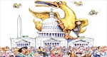 """Lịch sử giai đoạn """"vịt què"""" trên chính trường Mỹ"""