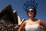 Thế giới bắt đầu chào đón Năm mới 2015