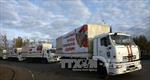 Nga lập đoàn xe cứu trợ thứ 11 đến Đông Ukraine