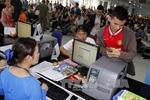 Ga Sài Gòn phục vụ 7.000 người ngày đầu năm