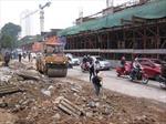 Vụ sụt xà mũ đường sắt đô thị Cát Linh - Hà Đông: Thẩm tra bản vẽ thiết kế, làm lại giàn giáo