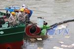 Cơ bản khắc phục sự cố tràn dầu Nhà máy nhiệt điện Uông Bí