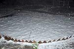 Tuyết rơi trong đêm phủ trắng Trạm Tôn, Sa Pa
