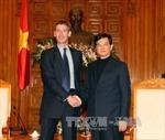 Thủ tướng Nguyễn Tấn Dũng tiếp Đại sứ Anh