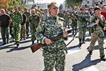Ukraine huy động phụ nữ thực hiện nghĩa vụ quân sự