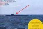 Tàu ngầm tối mật của Nga bị lộ?