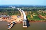Campuchia hoàn thành cầu dài nhất bắc qua sông Mekong