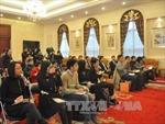 Họp báo nhân 65 năm thiết lập quan hệ ngoại giao Việt - Trung