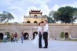 Tình yêu Hà Nội trong những bức ảnh cưới
