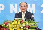 Chủ tịch Quốc hội dự Hội nghị triển khai công tác tư pháp 2015