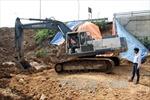 Ngừng cấp nước để gia cố điểm xung yếu trên tuyến ống Sông Đà