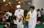 Cấp cứu kịp thời 108 công nhân ngộ độc thực phẩm