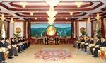 Tăng cường hợp tác giữa Bộ Công an Việt Nam và Bộ An ninh Lào