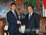 Phó Thủ tướng Nguyễn Xuân Phúc tiếp Hạ nghị sỹ Nhật Bản