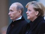 Lãnh đạo Nga, Đức thảo luận tình hình Ukraine