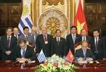 Chủ tịch Hạ viện Uruguay kết thúc chuyến thăm Việt Nam