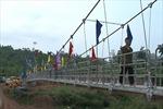 Sẽ hoàn thành 186 cầu treo trước 30/6