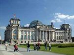 Tờ rơi đe doạ khủng bố rải quanh Nhà quốc hội Đức