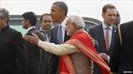 Tổng thống Mỹ bắt đầu chuyến thăm Ấn Độ