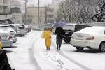 Mưa tuyết trên diện rộng ở Nhật Bản