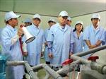 Đồng chí Nguyễn Thiện Nhân thăm cơ sở kinh tế tại Bạc Liêu