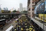 Tái diễn biểu tình ở Hong Kong, Trung Quốc