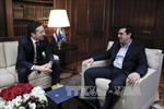 Tân Thủ tướng Hy Lạp công du châu Âu