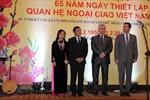 Long trọng kỷ niệm 65 năm quan hệ ngoại giao Việt Nam - CH Séc