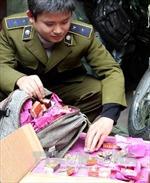 Cao Bằng: Bắt giữ 102 kg pháo nhập lậu