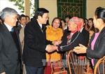 Chủ tịch nước Trương Tấn Sang thăm, làm việc tại Yên Bái