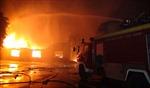 Tây Ninh: Cháy kho chứa bật lửa ga