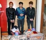 Quảng Ninh: Bắt gần 72 kg pháo nổ trái phép
