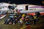 Số người chết trong tai nạn máy bay TransAsia tới 40 người