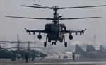 Bất ngờ với trực thăng 'cá sấu' dũng mãnh của Nga