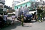Xe tải tông xe máy, 4 người thương vong